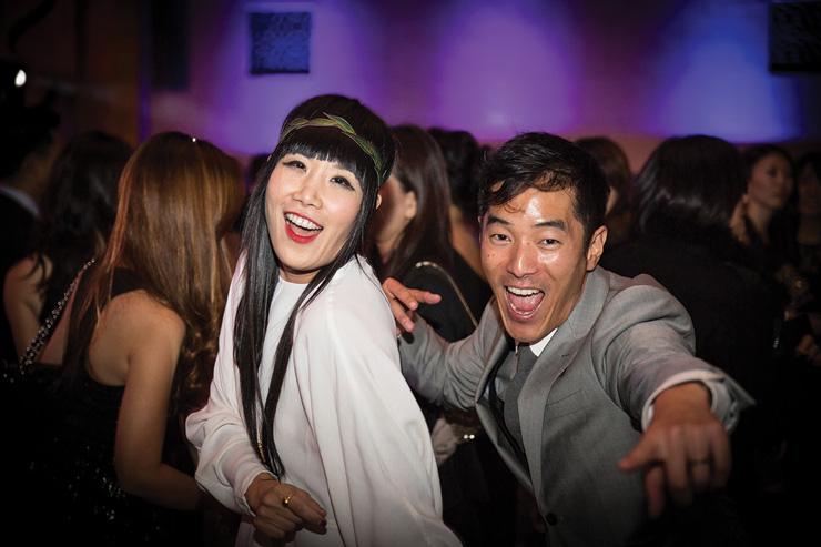 Vivian Bang Leonardo Nam Unforgettable Gala