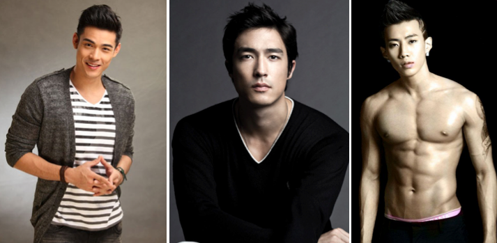 Male asian models top The Most