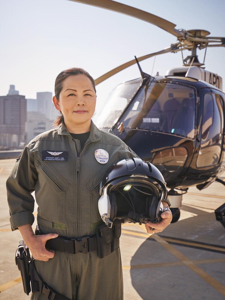 APAHM 2018: LAPD Supervisor Pilot Sgt  Janet Kim is Living