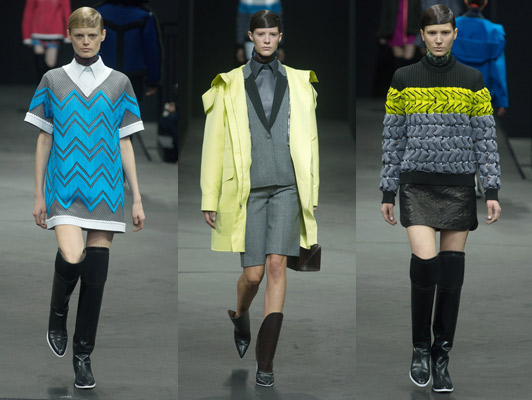 Alexander Wang Uses Heat Technology To Wow Audiences At New York Fashion Week 2014 Character Media