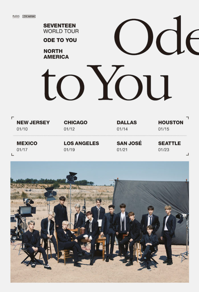 Bts Us Tour 2020.K Pop Group Seventeen Announces World Tour Dates In North