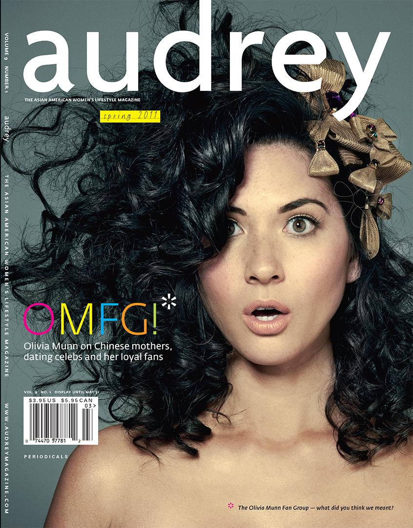 Audrey Magazine Spring 2011 Olivia Munn Cover