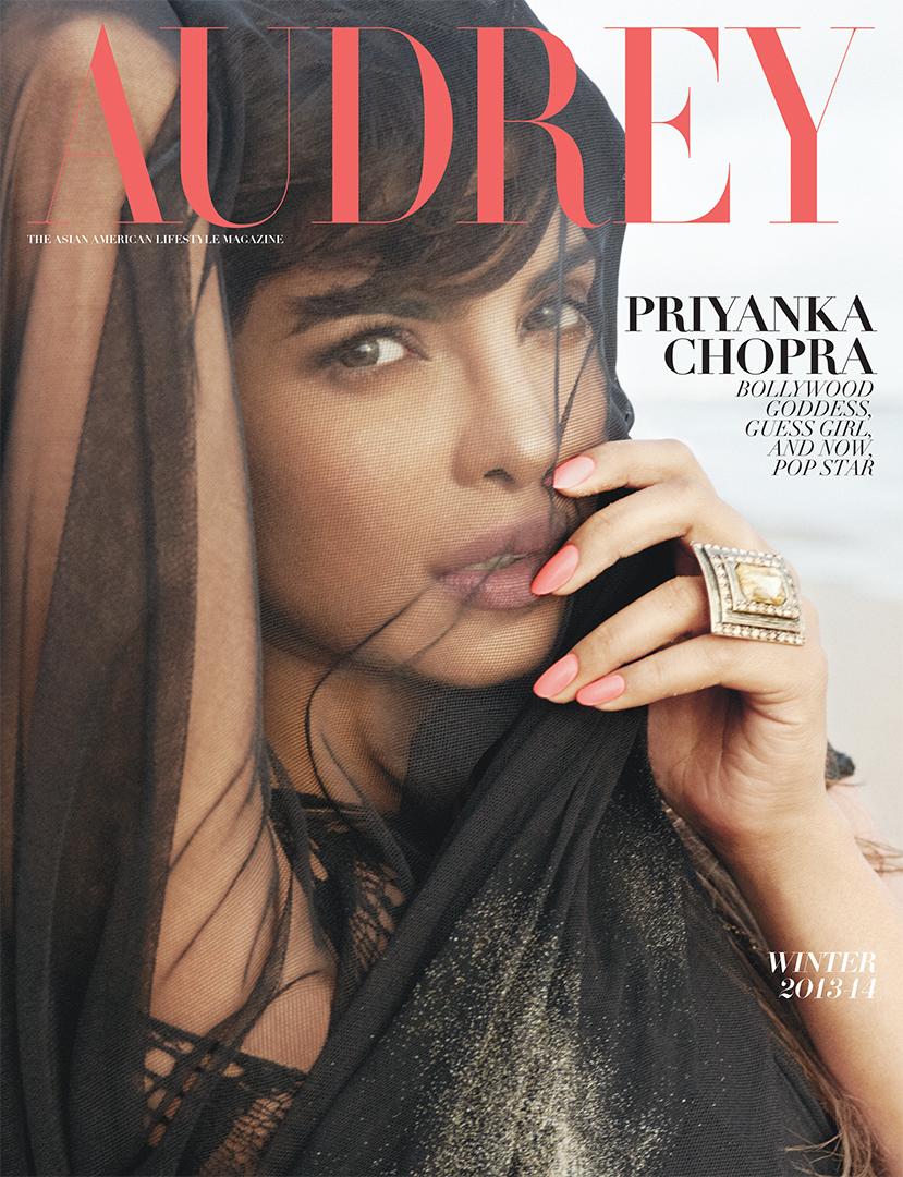 Audrey Magazine Winter 2013 Priyanka Chopra Cover