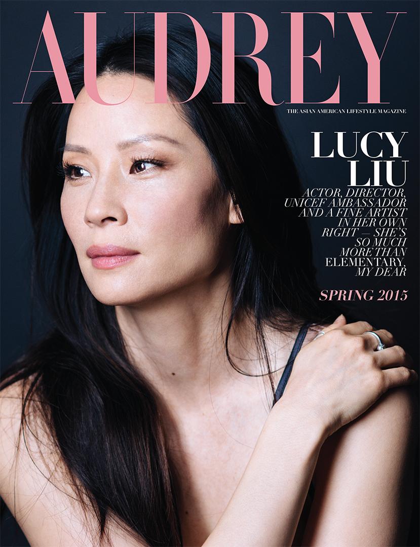 Audrey Magazine Spring 2015 Lucy Liu Cover