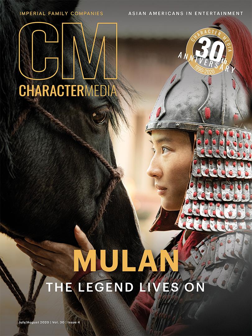 Character Media July 2020 Mulan Yifei Liu Cover