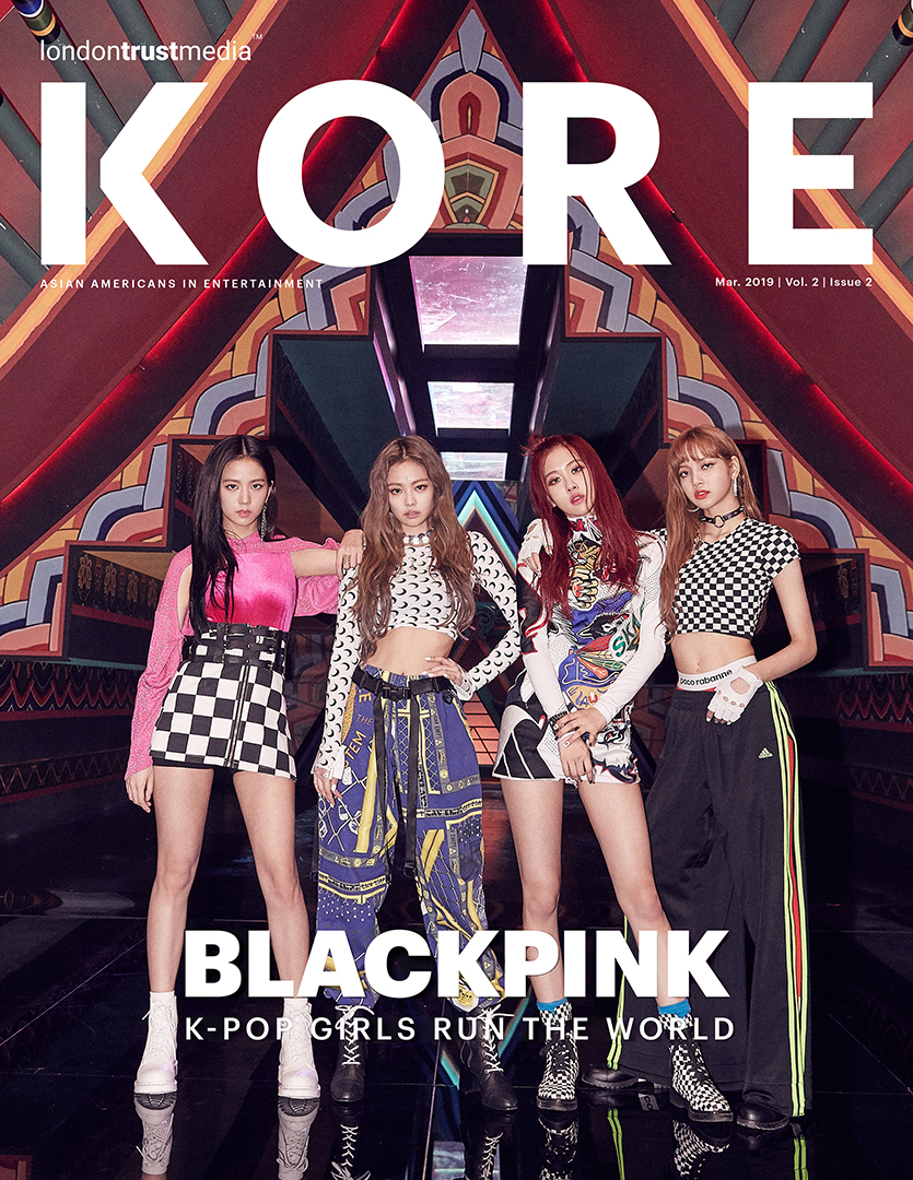 Kore Asian Media March 2019 Blackpink Cover