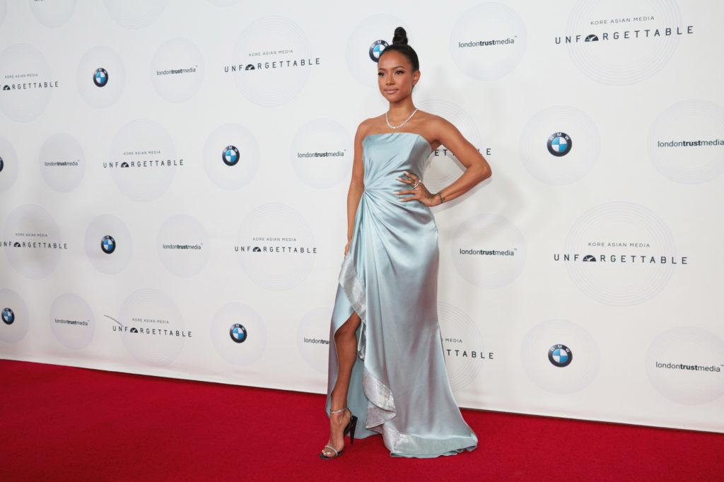 Karrueche Tran Red Carpet Unforgettable Gala