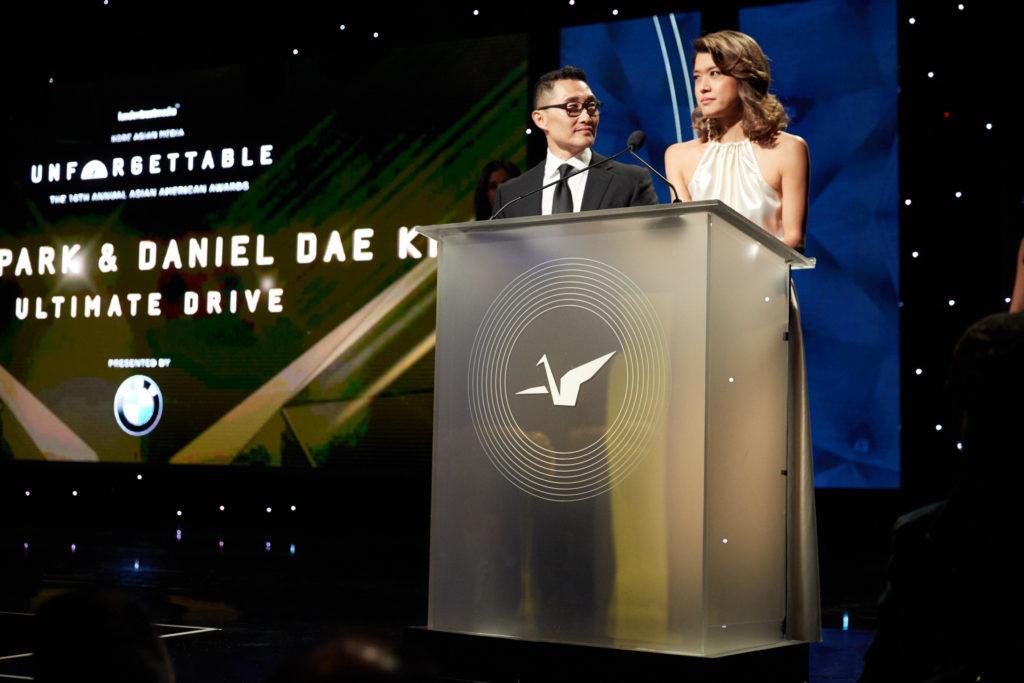 Daniel Dae Kim Grace Park Unforgettable Gala
