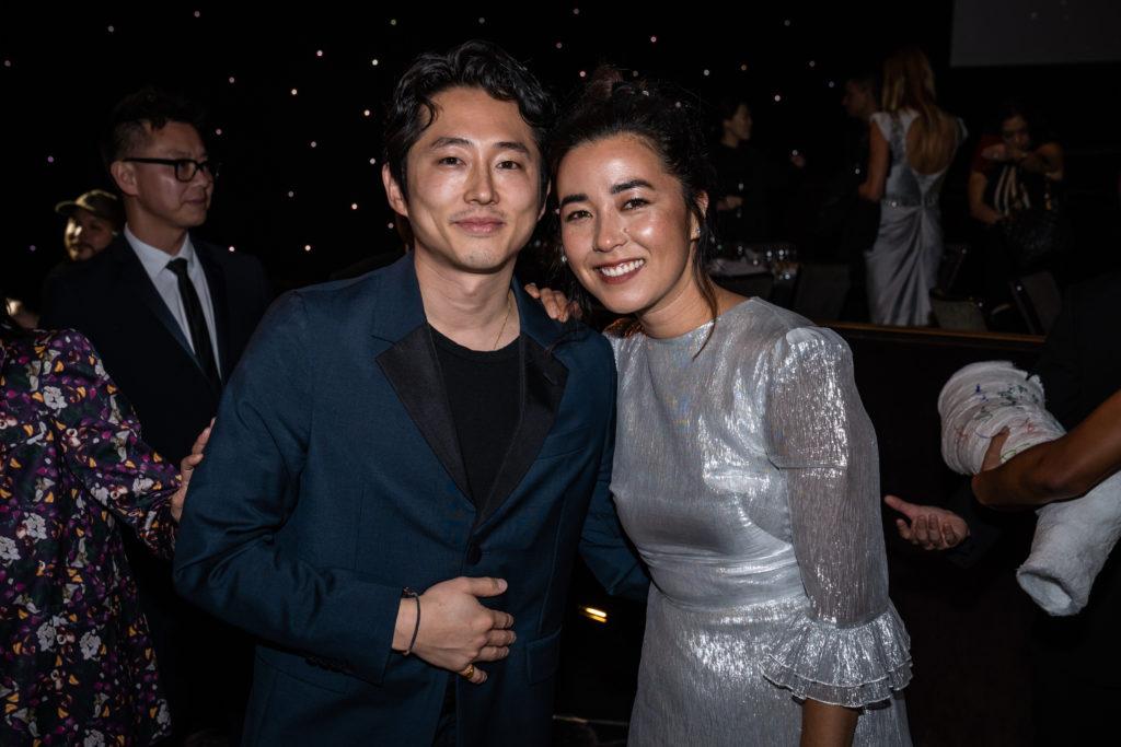 Steven Yeun Maya Erskine Unforgettable Gala