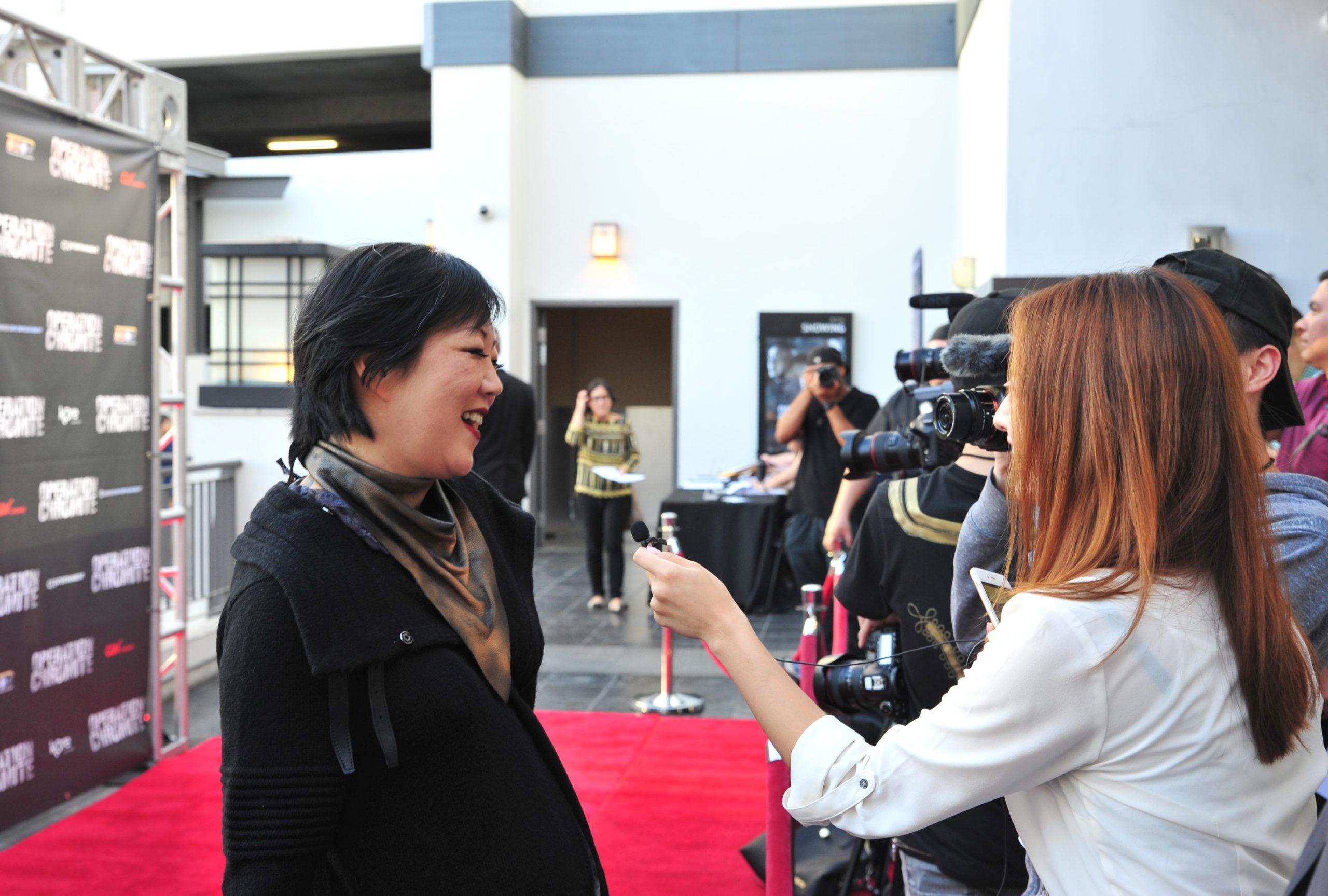 Margaret Cho Red Carpet Operation Chromite Screening