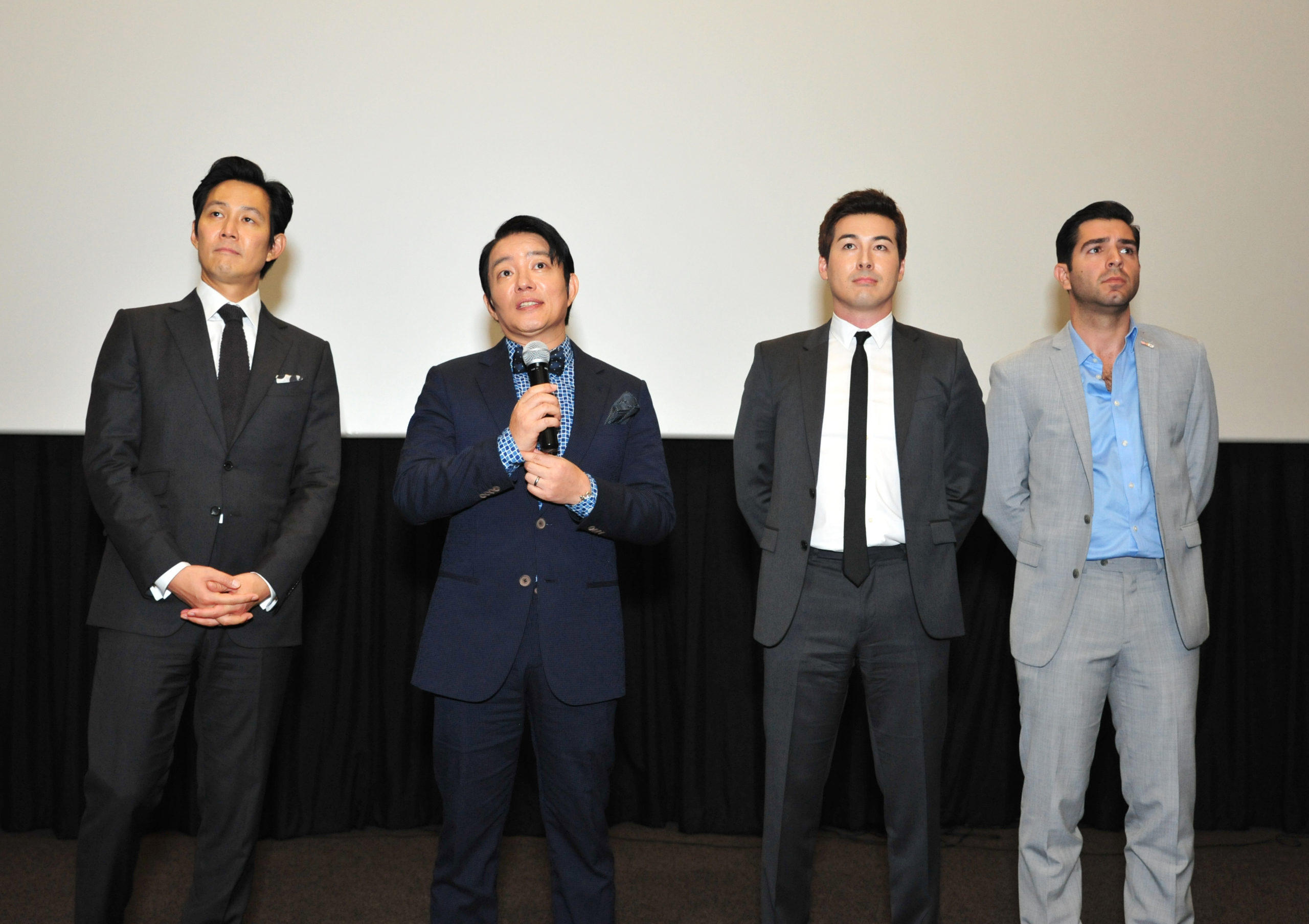 Lee Jung-jae Lee Beom-soo Sean Dulake Justin Rupple Operation Chromite Screening