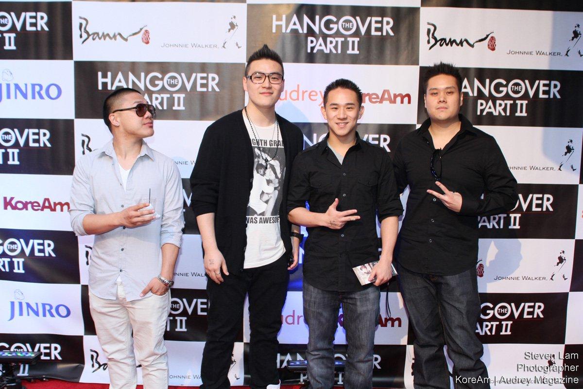 Timothy DeLaGhetto Jason Chen Red Carpet Hangover Part 2 Screening